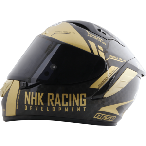 GP-R Tech頂級複合材質全罩式安全帽 (亮黑金)