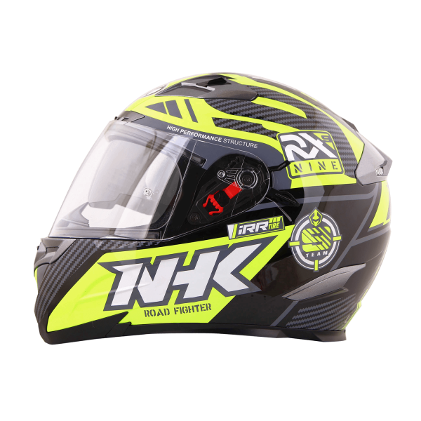 RX-9 全罩式安全帽 (RacerX-黑黃)