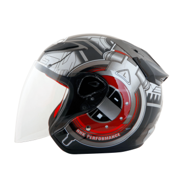 R6半罩式安全帽(Tectron-黑紅) 2020新款